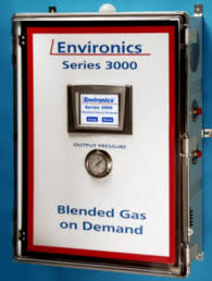 Biological Atmosphere Incubation Gas Mixers